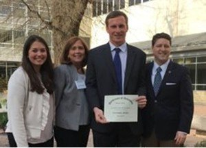 Bailey & Oliver Law Clerk Receives Prestigious Law School Award