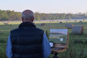 Plein Air Painting in NW Arkansas -  Part 1