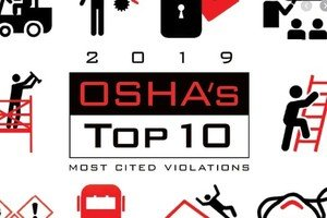 Top 10 Most Frequently Cited Workplace Safety Violations - 2019 Fiscal Year