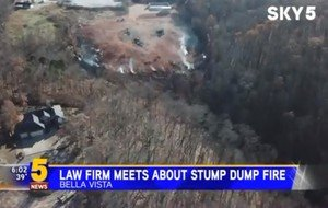 Residents Near Bella Vista Stump Dump Fire Taking Legal Action As Problem Continues - 5 NEWS, KFSM