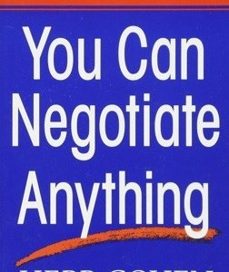 Book Report - You Can Negotiate Anything by Herb Cohen