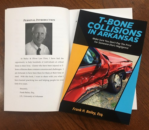 FRANK BAILEY, T BONE COLLISIONS BOOK WITH PHOTO